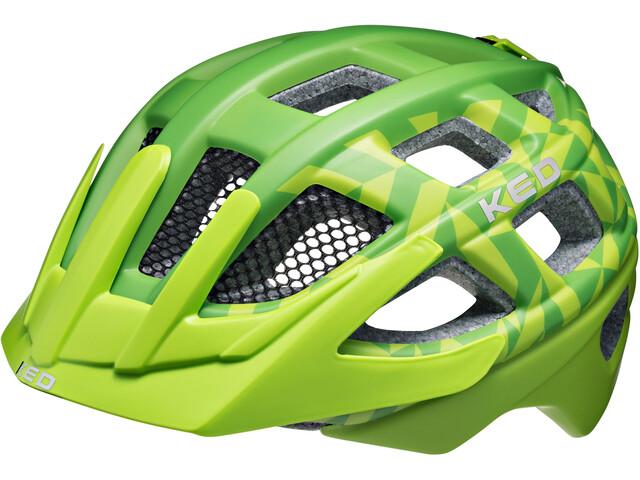 KED Kailu Helmet Kids Green Matt